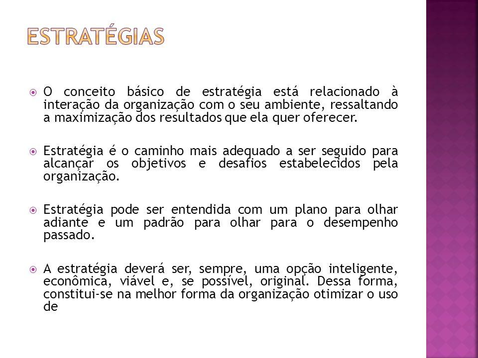 - Gestão estratégica pode ser vista como a forma pela qual a organização dá vida ao seu planejamento estratégico.