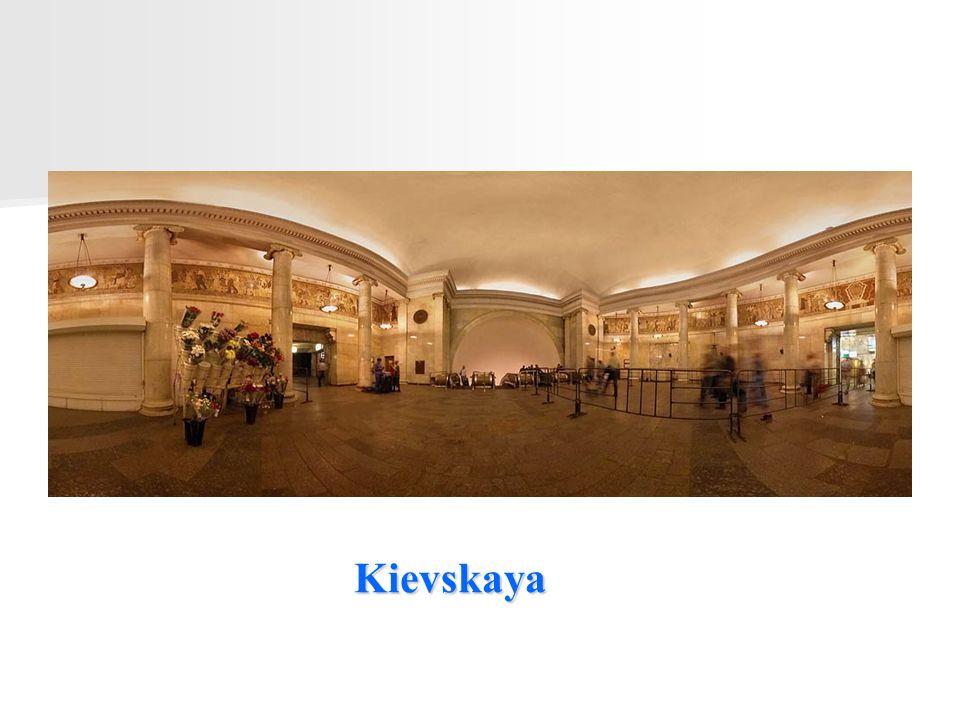 Kievskaya Continua clicando para uma visita completa desse magnífico metro.