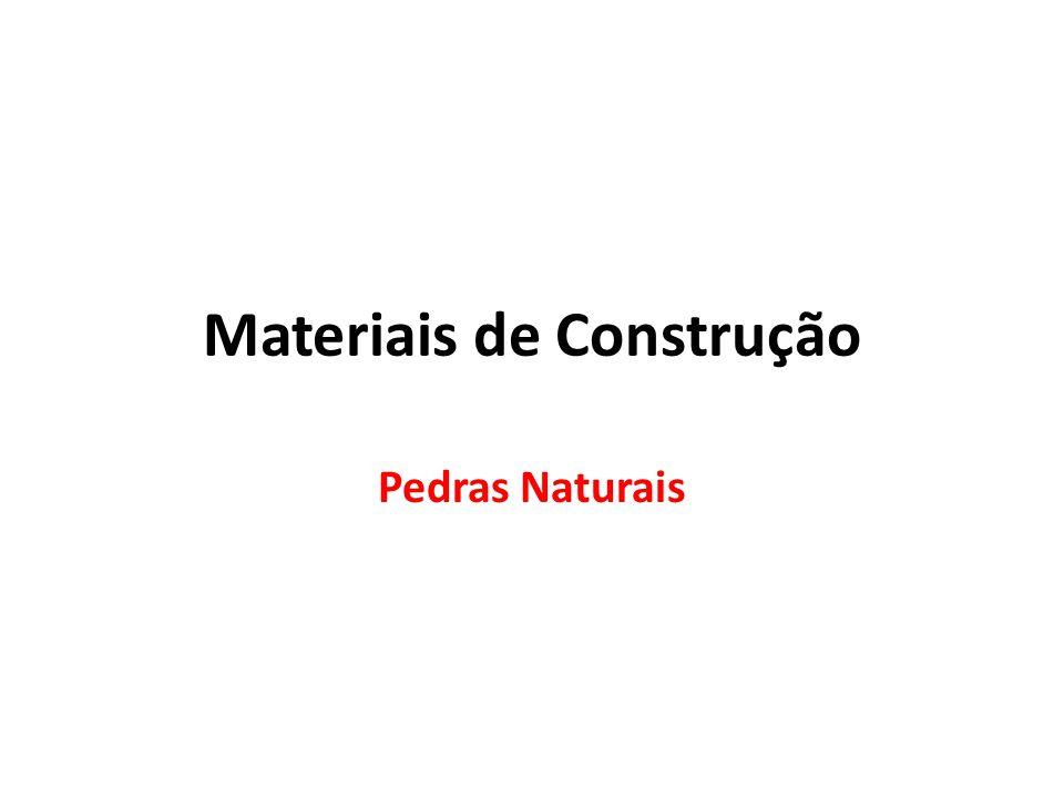 Materiais de Construção Pedras Naturais