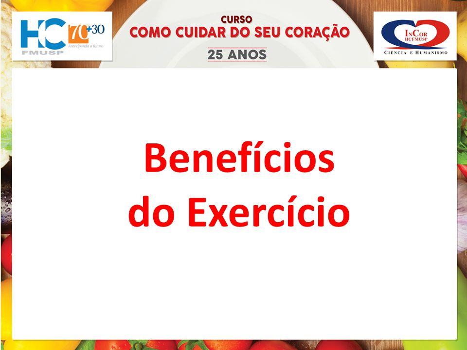 1- Quem acredita que o exercício físico traz benefícios para saúde.