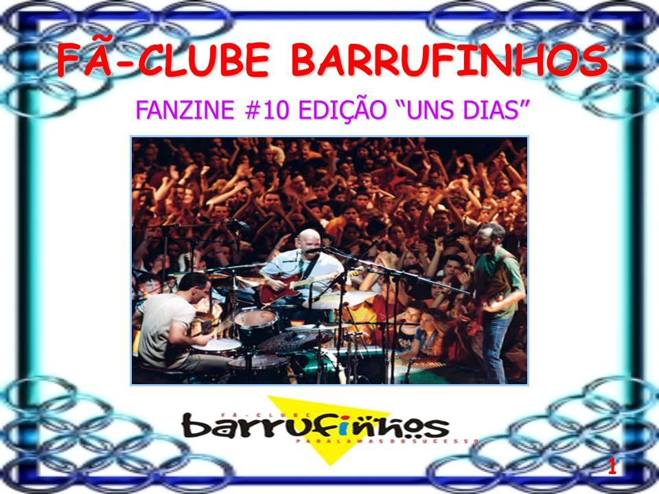 1 FÃ-CLUBE BARRUFINHOS FANZINE #10 EDIÇÃO UNS DIAS