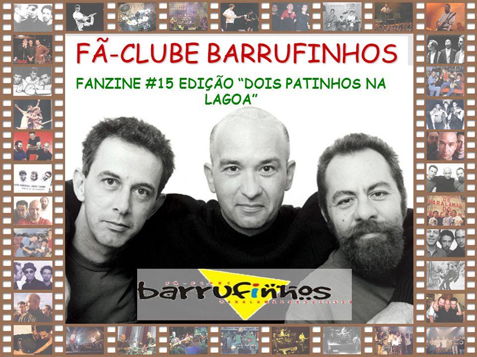 """1 FÃ-CLUBE BARRUFINHOS FANZINE #15 EDIÇÃO """"DOIS PATINHOS NA LAGOA"""""""