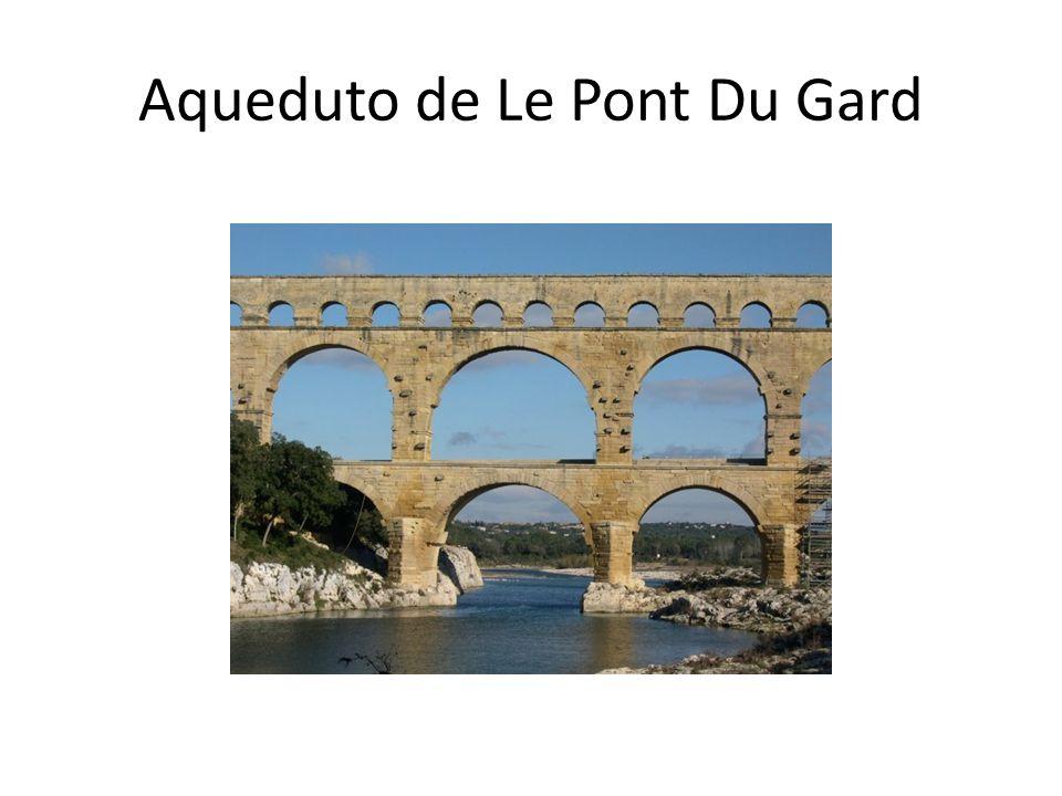 Aqueduto de Le Pont Du Gard