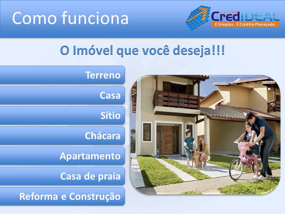 Terreno Casa Sítio Chácara Apartamento Casa de praia Reforma e Construção