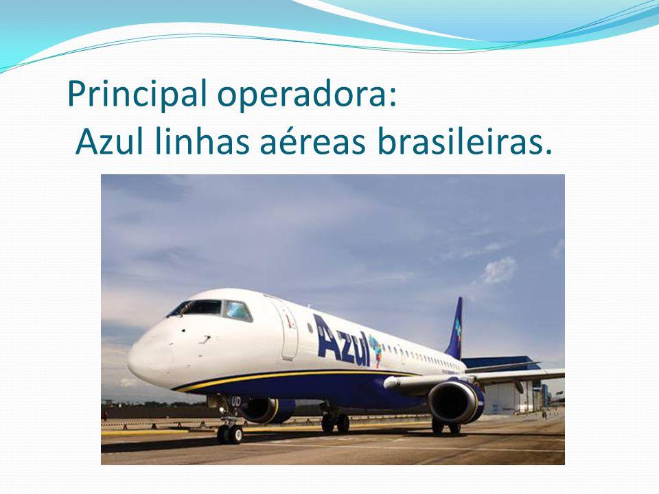 Complexo Aeroportuario Sítio aeroportuário Área: 17.659.300,00 m² Pátio das aeronaves Área: 86.978 m² (pátios 1 e 2) Pista Principal Comprimento: 3.240m x 45m largura Terminal de passageiros Área: 30.000 m² Estacionamento Capacidade: 1.000 vagas Balcões de check-in Número: 32 Estacionamento de aeronaves Número de posições pátios 1 e 2: 20 Número de posições pátio 3 (grande porte): 11