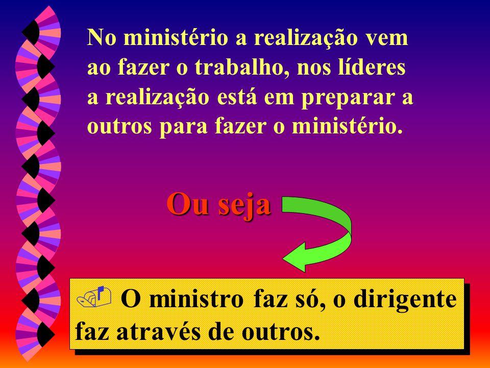 """Diferença entre o ministro e o ministro líder Diferença entre o ministro e o líder MINISTÉRIO MINISTÉRIO: """"Servir a Deus, ajudando outros a trabalhar"""