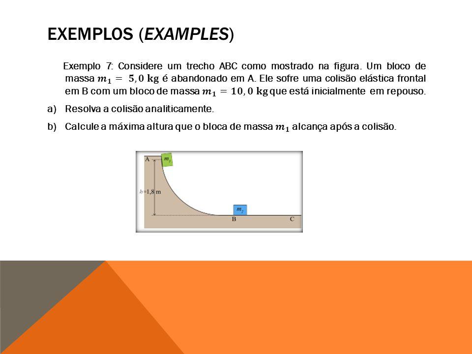 EXEMPLOS (EXAMPLES)