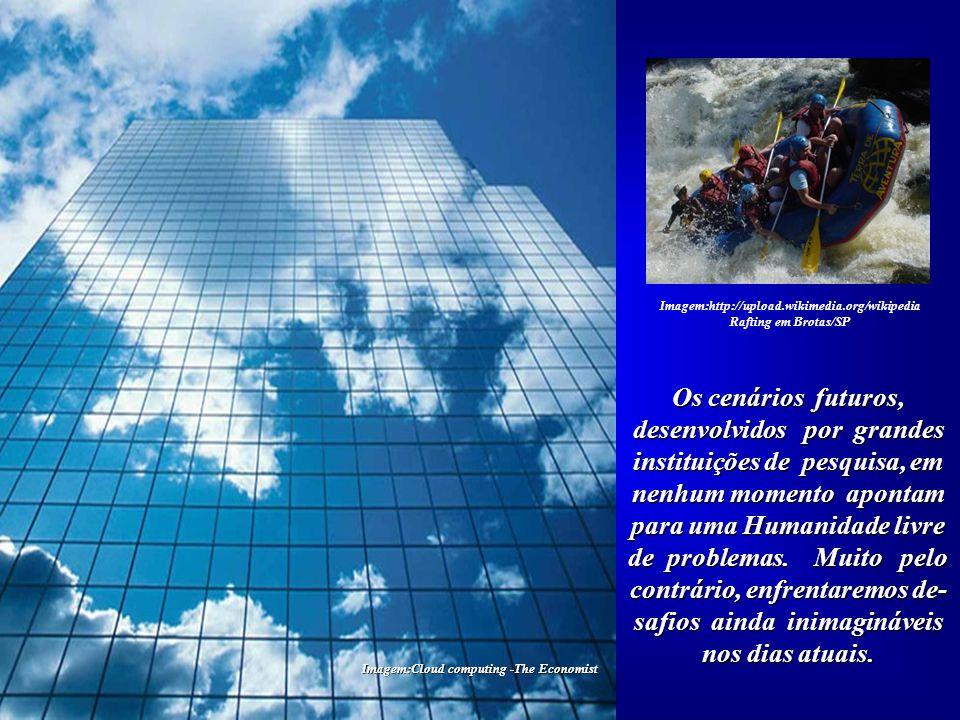 Imagem:www.carlossaraiva.com – Saudades doFuturo É, pois, um momento para muitas decisões sérias e bem planejadas. Não te- mos quaisquer outras possi-