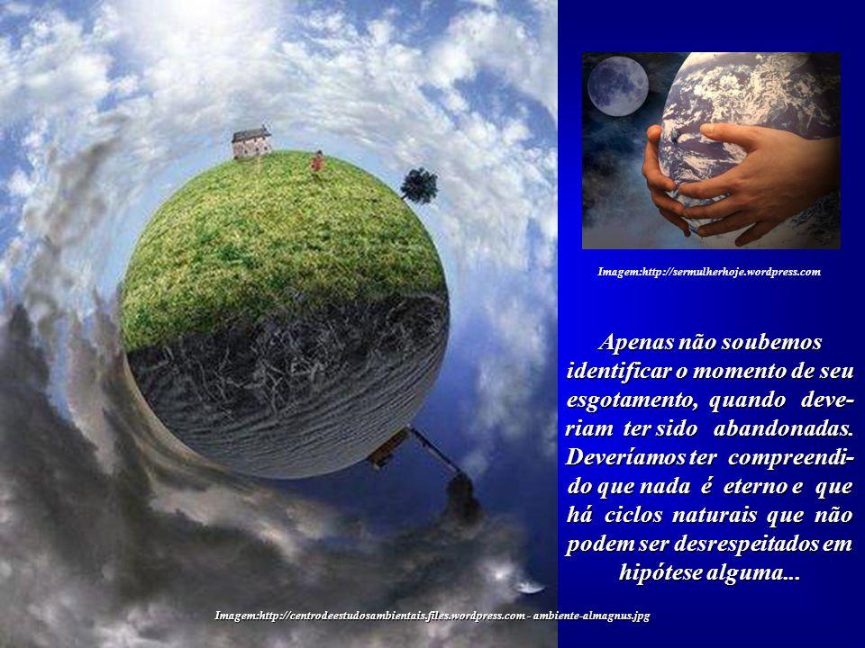 Imagem:http://centrodeestudosambientais.files.wordpress.com - ambiente-almagnus.jpg É claro que não podemos classificar todas as ações passadas, que h
