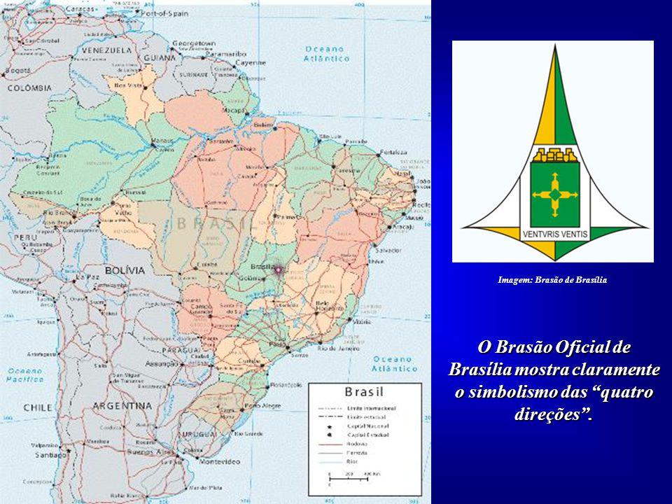 Partimos, inicialmente, de um ponto: Brasília. Tan- to na Geometria quanto na Geografia Sagrada precisa- mos de um ponto, irradiador para as quatro di