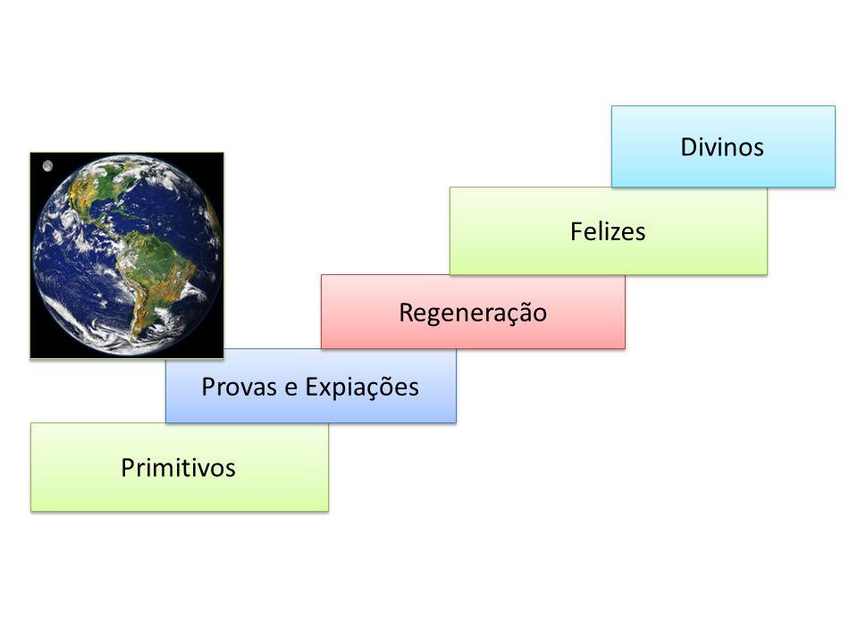 Primitivos Provas e Expiações Regeneração Felizes Divinos