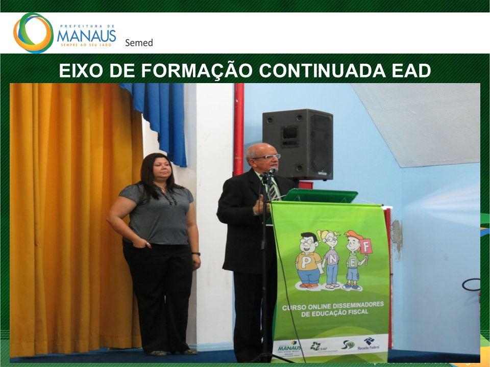 EIXO DE FORMAÇÃO CONTINUADA EAD