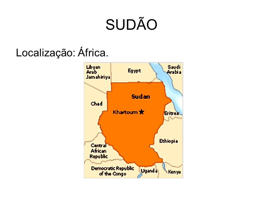 SUDÃO Localização: África.