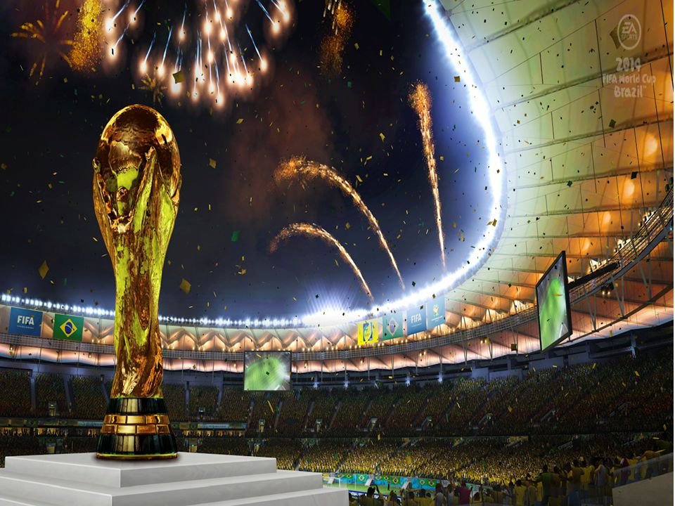 A bola oficial da Copa do Mundo de 2014 chama-se Brazuca, nome escolhido após votação popular pela internet.