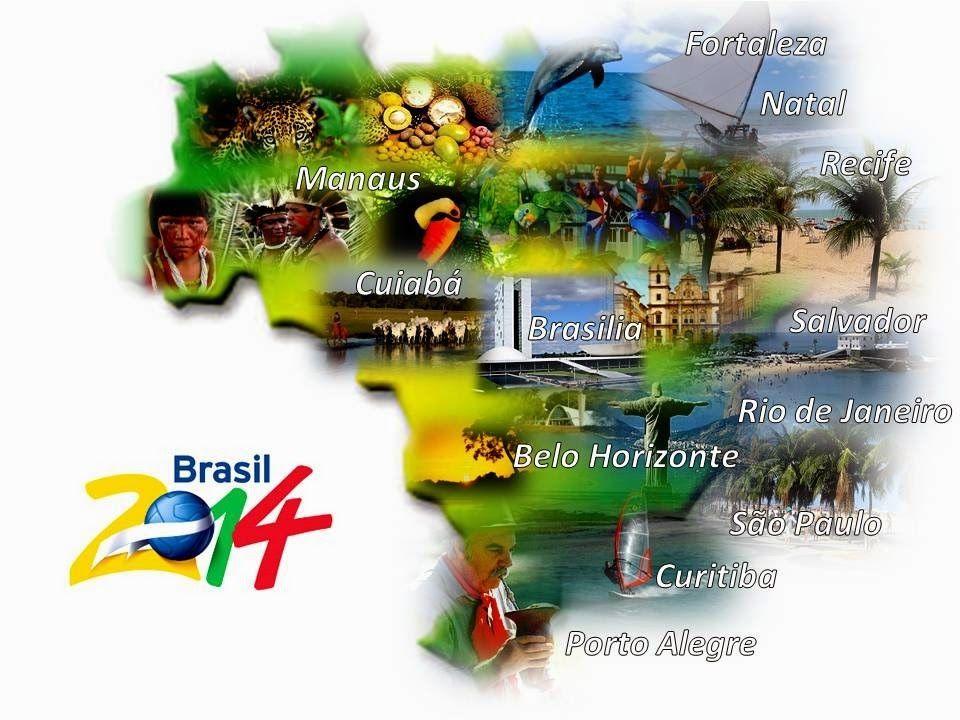 O Brasil foi a última sede de Copa do Mundo escolhida através da política de rodízio de continentes implementada pela FIFA, iniciado a partir da escolha da Copa do Mundo FIFA de 2010, na África do Sul.