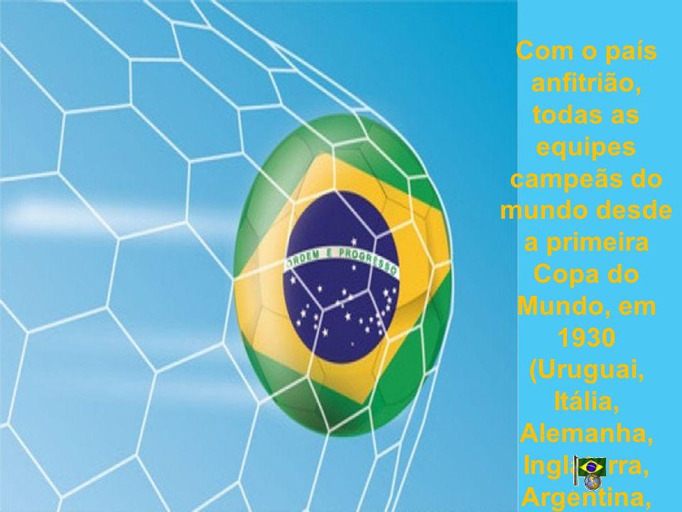 Com o país anfitrião, todas as equipes campeãs do mundo desde a primeira Copa do Mundo, em 1930 (Uruguai, Itália, Alemanha, Inglaterra, Argentina, França e Espanha) se qualificaram para esta competição.