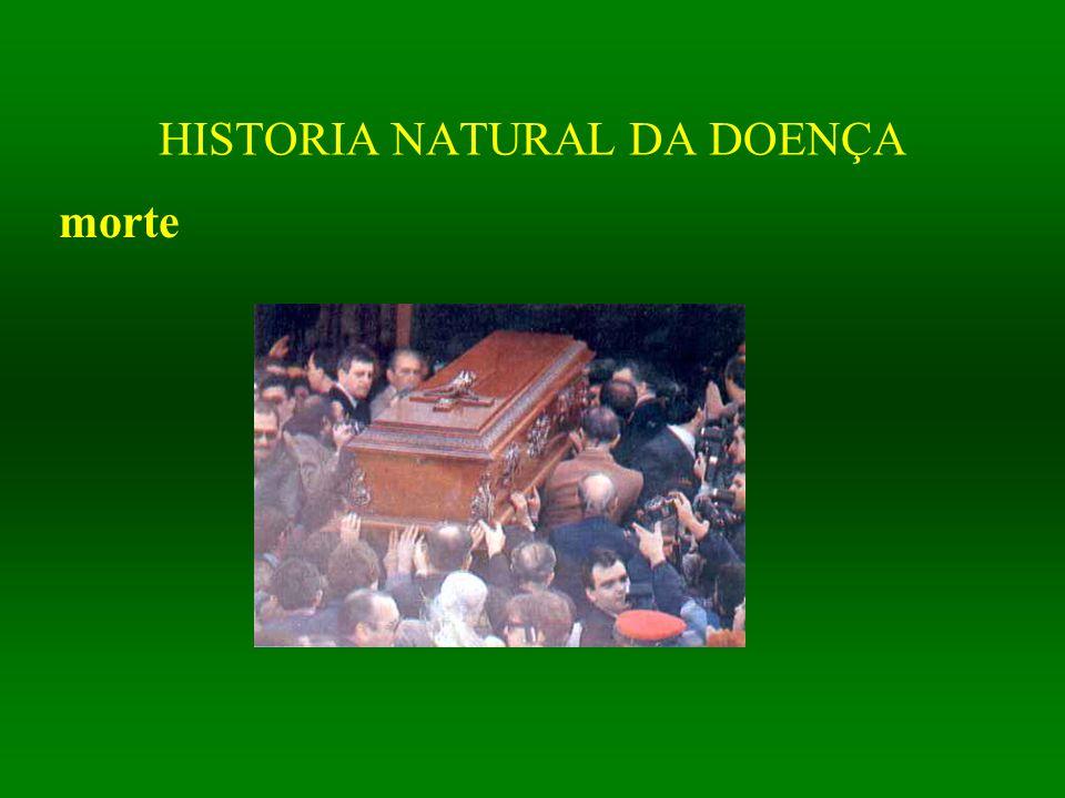 HISTORIA NATURAL DA DOENÇA morte