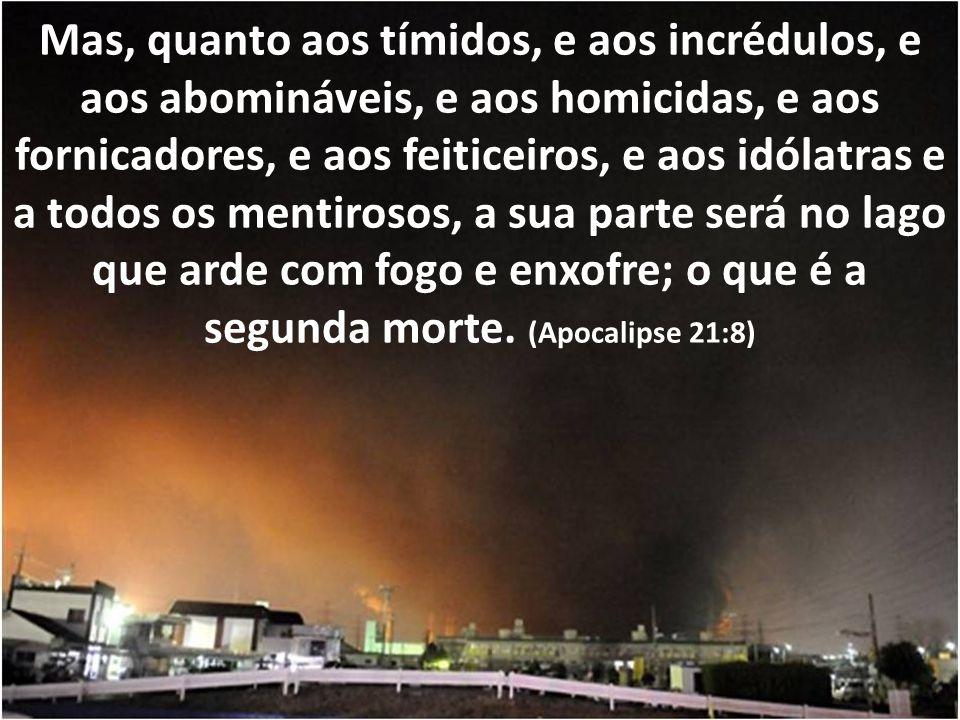 Eis que vem o dia do SENHOR, horrendo, com furor e ira ardente, para pôr a terra em assolação, e dela destruir os pecadores. (Isaías 13:9)