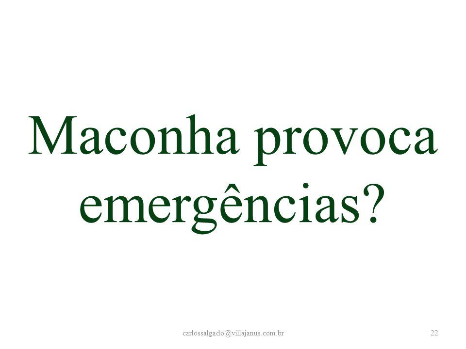 carlossalgado@villajanus.com.br22 Maconha provoca emergências?