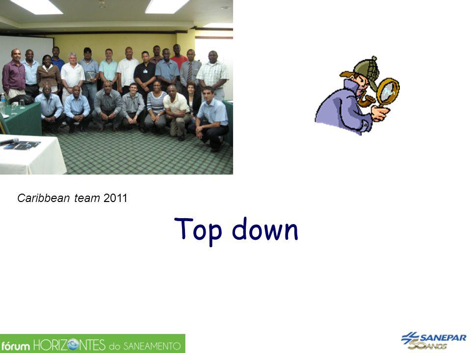 Top down Caribbean team 2011