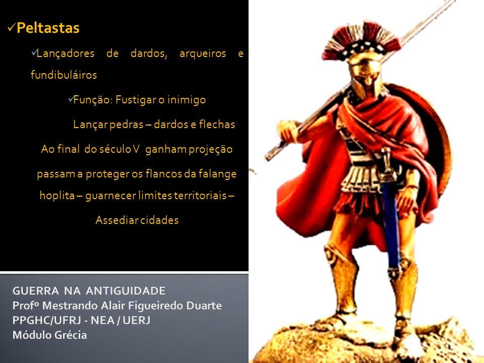A Cavalaria  Armamento Lanças curtas: usadas como dardos Couraça leve Cavaleiro passeando (ou desfilando). Interior de taça Ática de figuras vermelha
