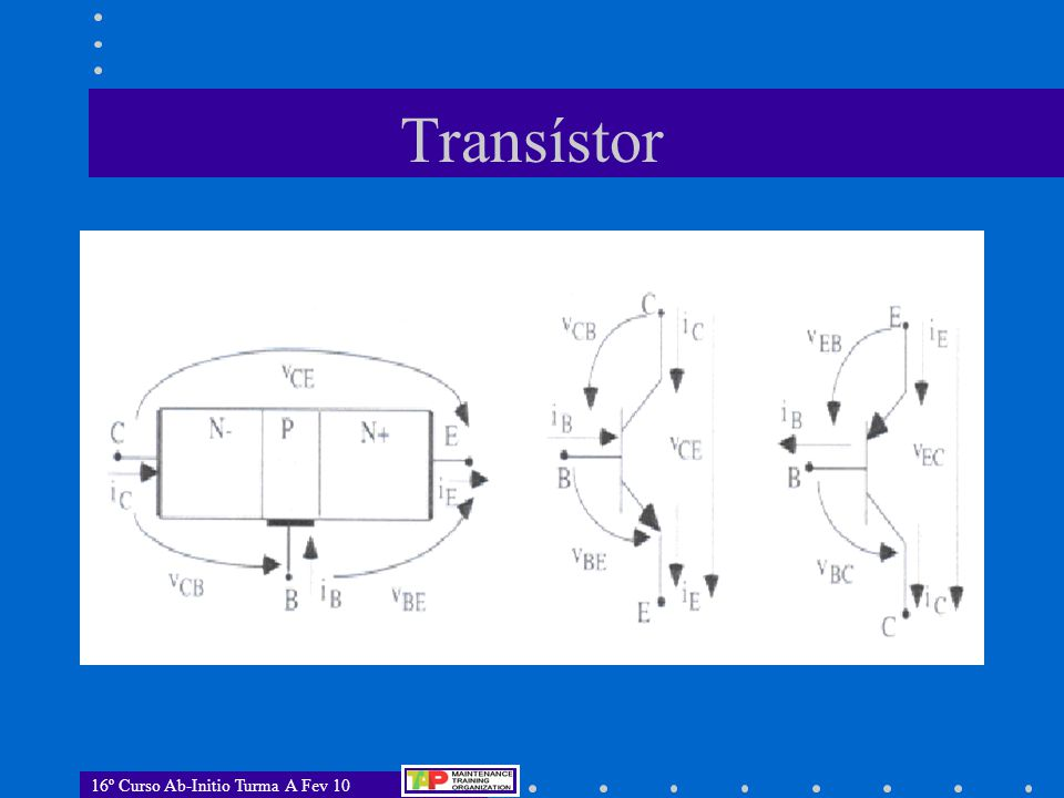 16º Curso Ab-Initio Turma A Fev 10 Transístor