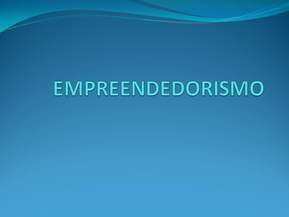 DIFINIÇÃO É o envolvimento de pessoas e processos que, em conjunto, levam à transformação de ideias em oportunidades.