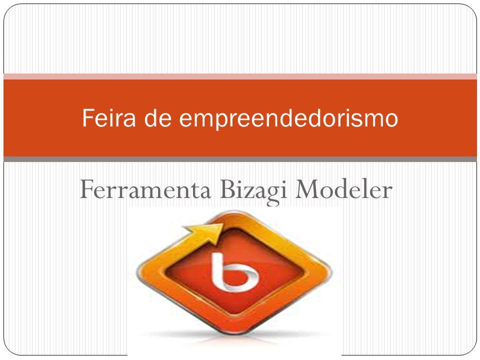 Ferramenta Bizagi Modeler Feira de empreendedorismo