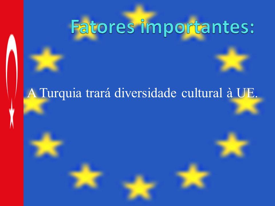 A Turquia trará diversidade cultural à UE.