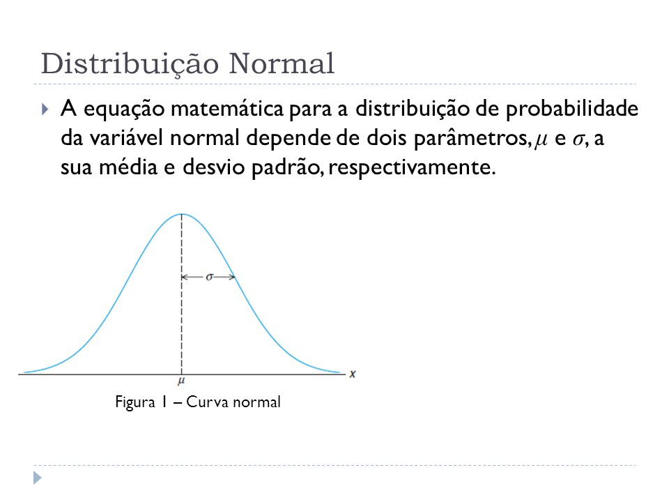 Exemplo 3 P(45 < X < 62) = P( − 0,5 < Z < 1,2) = P(Z < 1,2) − P(Z < − 0,5) = ????.