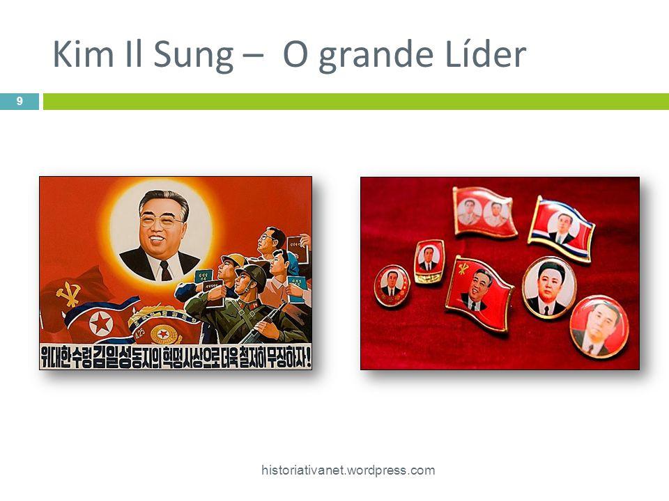 O governo de Kim Jong II  Devido ás crises internas, Kim Jong, em muitos momentos, saiu do isolacionismo procurando melhorar as relações com a Coréia do Sul e os EUA.