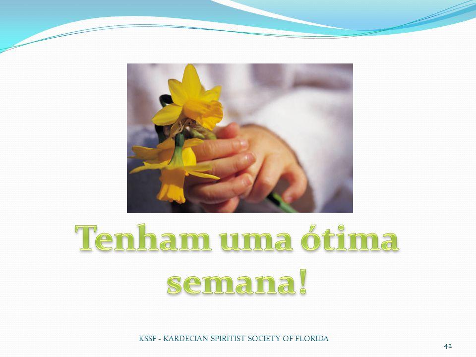KSSF - KARDECIAN SPIRITIST SOCIETY OF FLORIDA 42