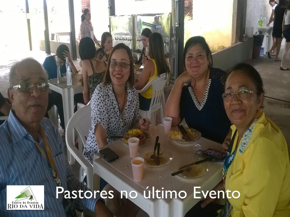 Pastores no último Evento