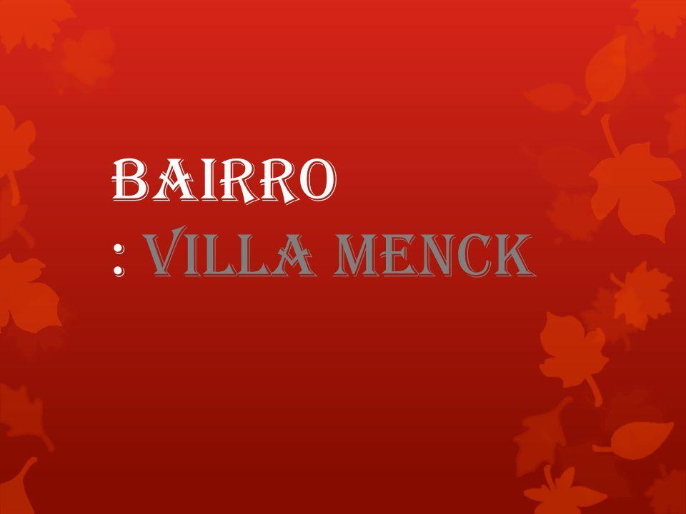 Nosso Bairro Villa Menck Lugar onde Moramos, E crescemos uma imagem.