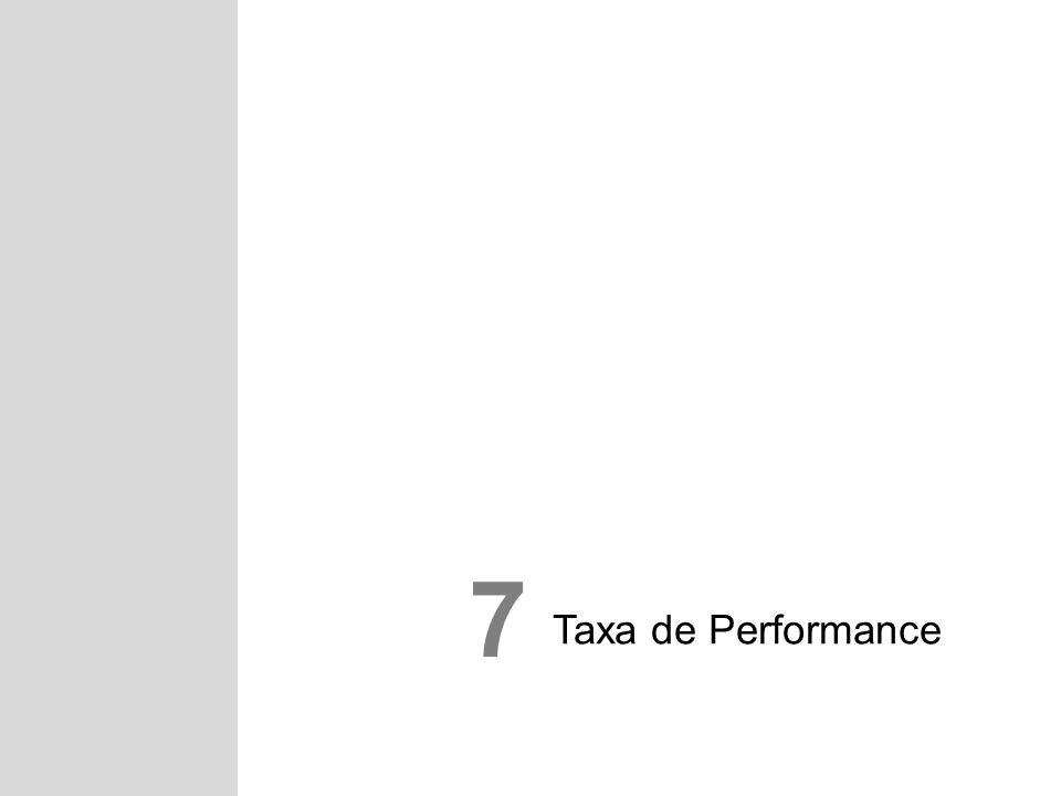 Taxa de Performance 7