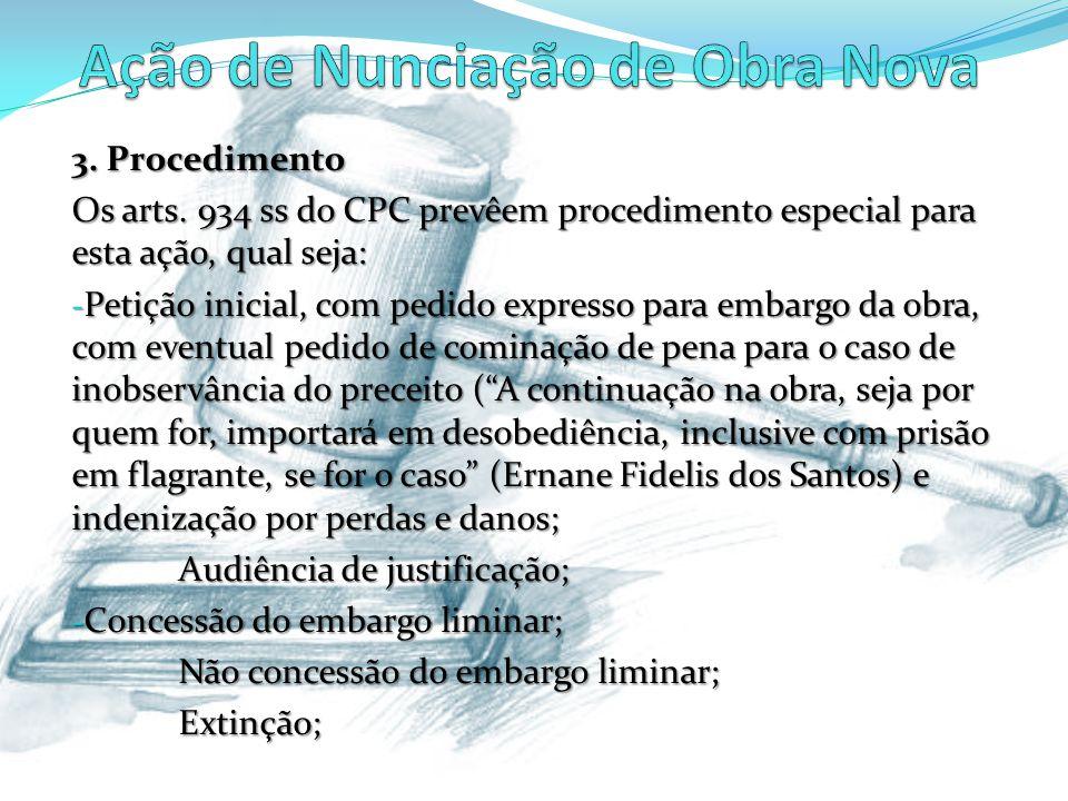 3.Procedimento Os arts.