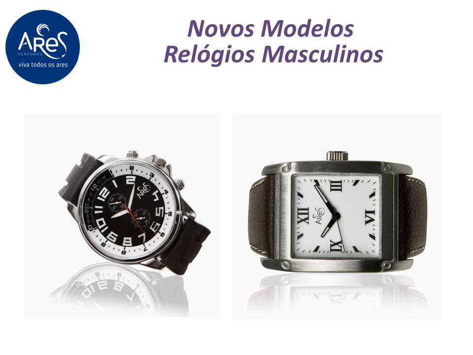 Novos Modelos Relógios Masculinos