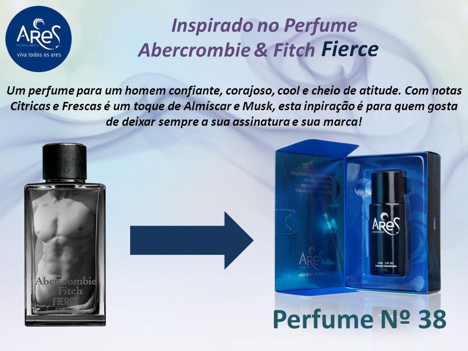 Inspirado no Perfume Abercrombie & Fitch Um perfume para um homem confiante, corajoso, cool e cheio de atitude. Com notas Citricas e Frescas é um toqu