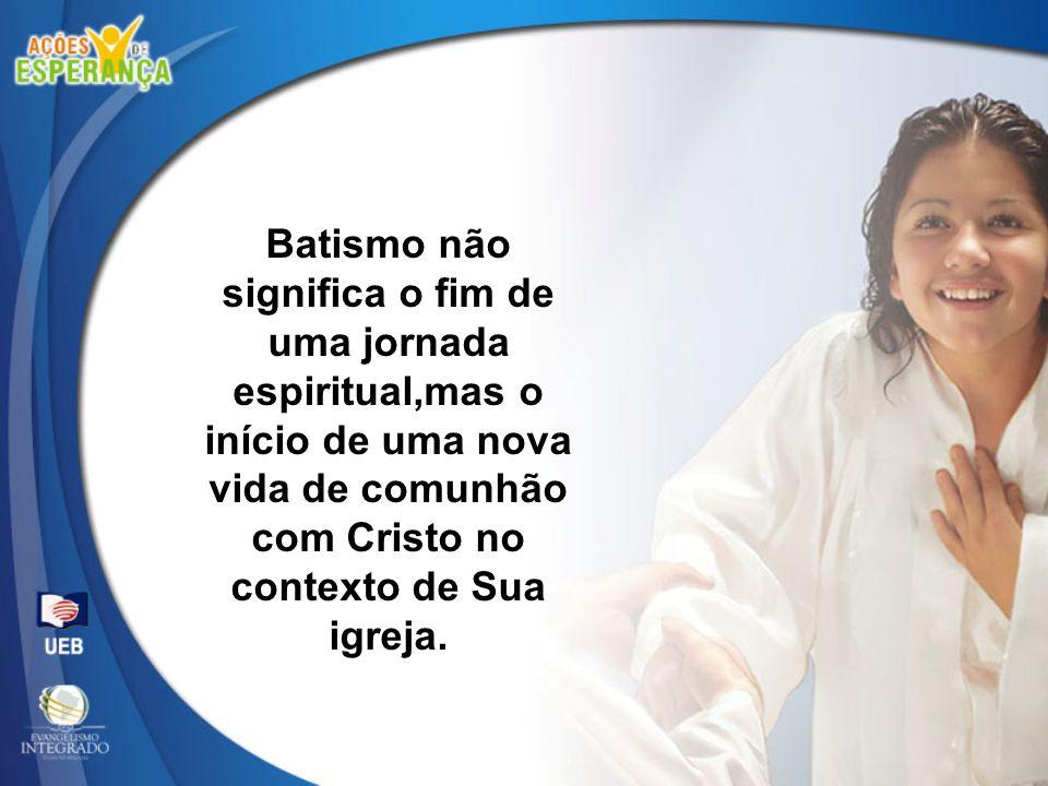 Se o novo converso se ausenta das reuniões de adoração, seu crescimento espiritual será atrofiado e sua fé será malograda.