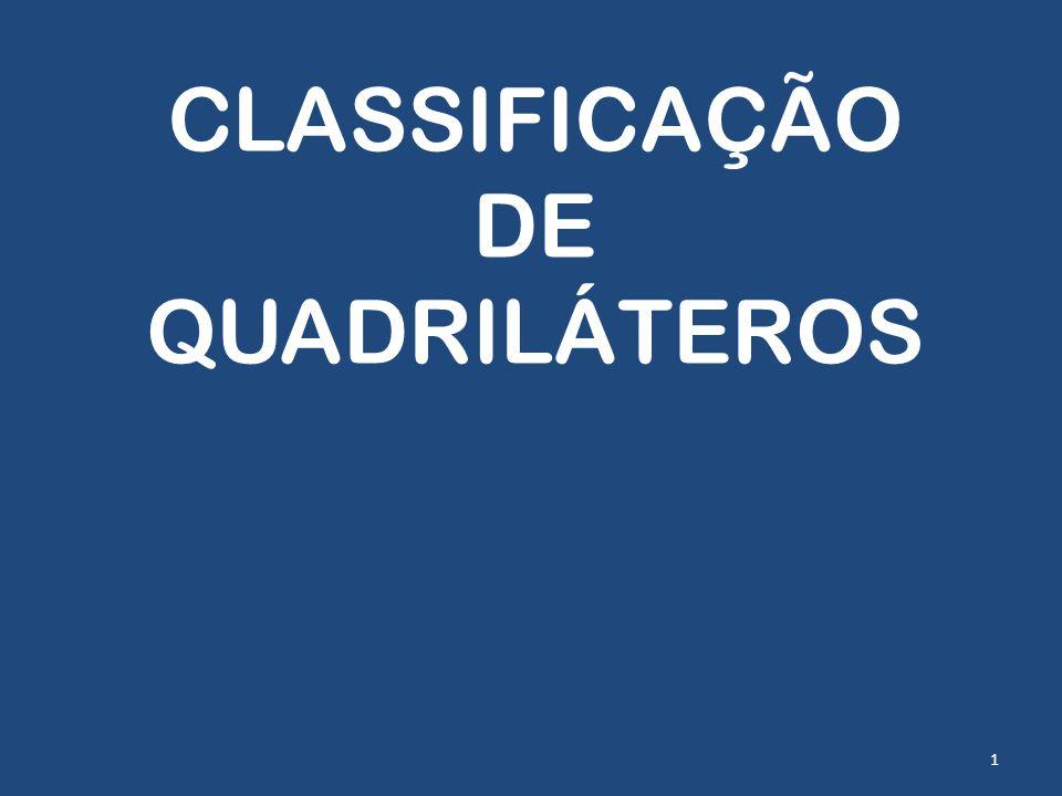 CLASSIFICAÇÃO DE QUADRILÁTEROS 1