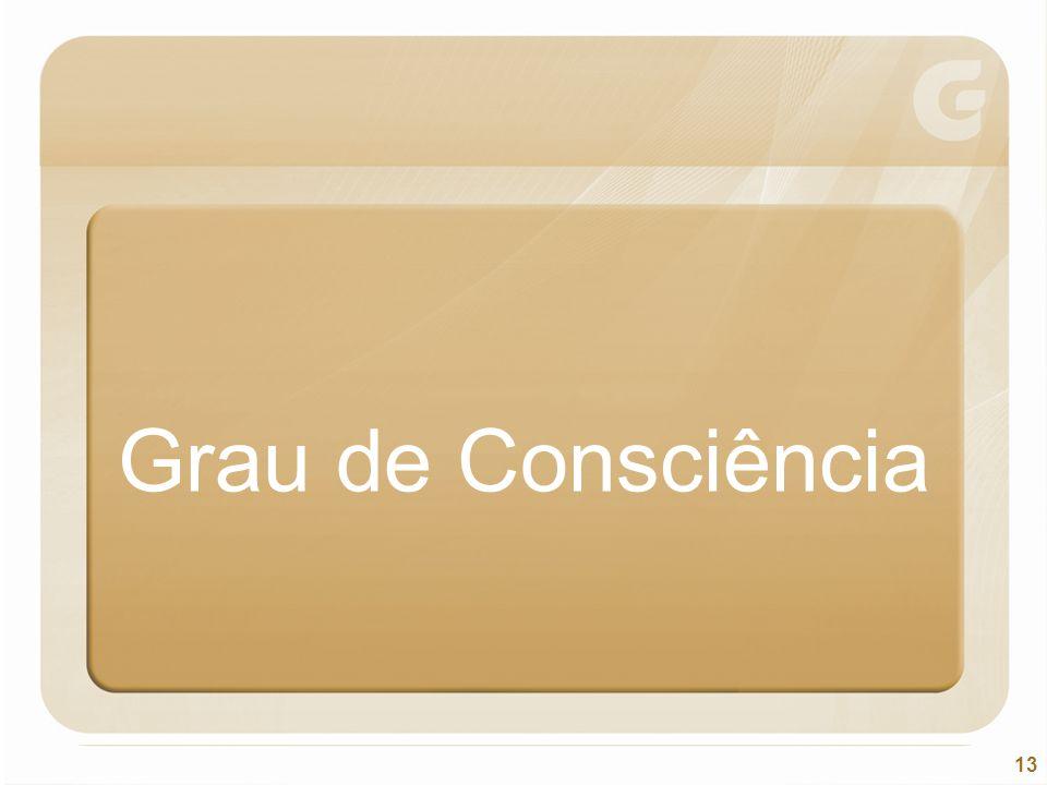 13 Grau de Consciência