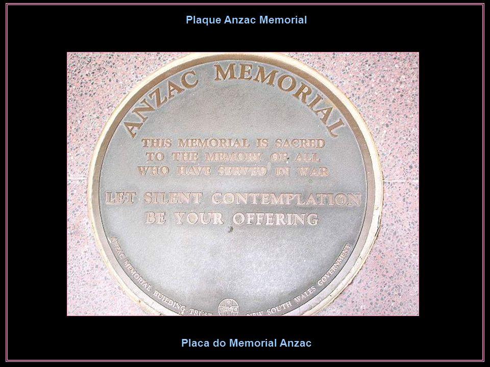 Anzac War Memorial Memorial da Guerra de Anzac