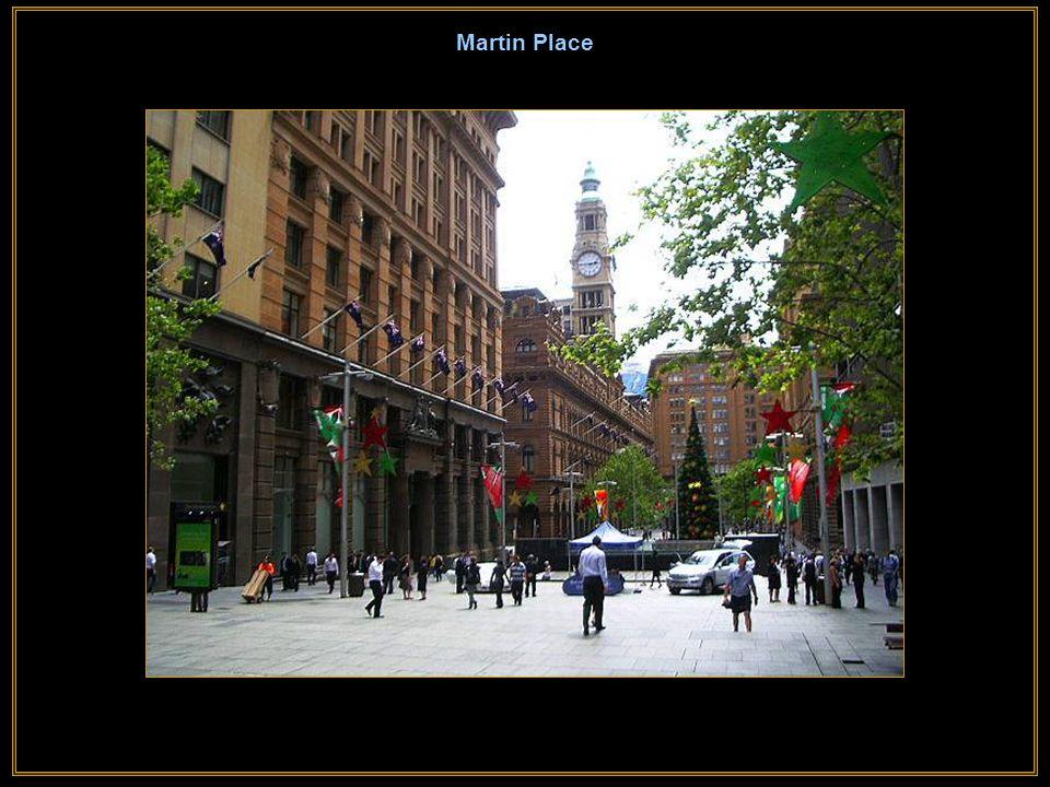 Australia Square Praça Austrália