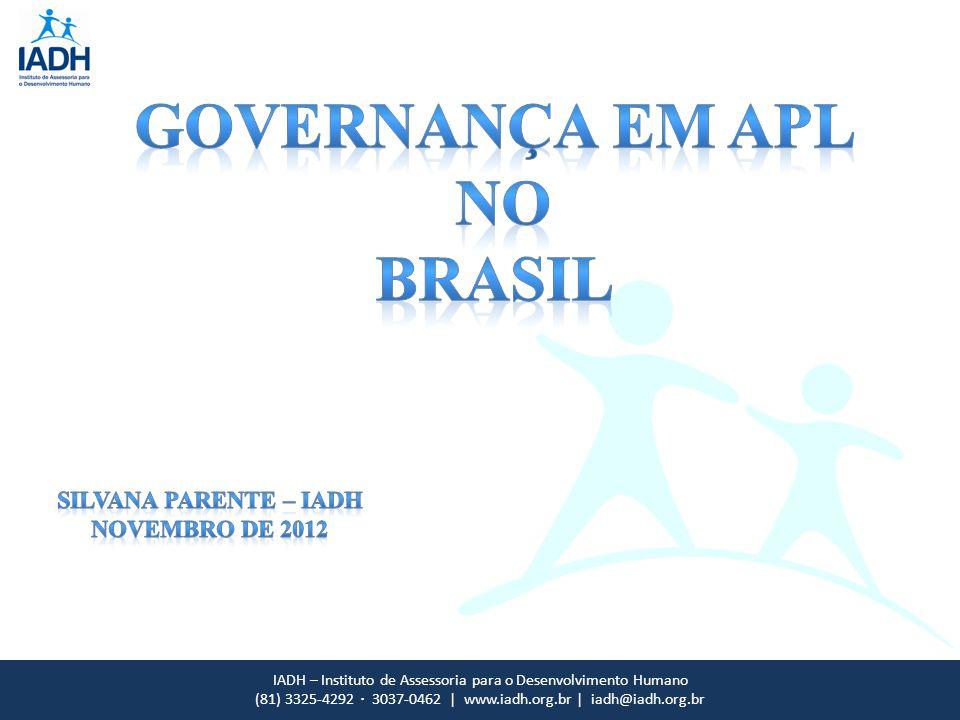 IADH – Instituto de Assessoria para o Desenvolvimento Humano (81) 3325-4292 · 3037-0462 | www.iadh.org.br | iadh@iadh.org.br