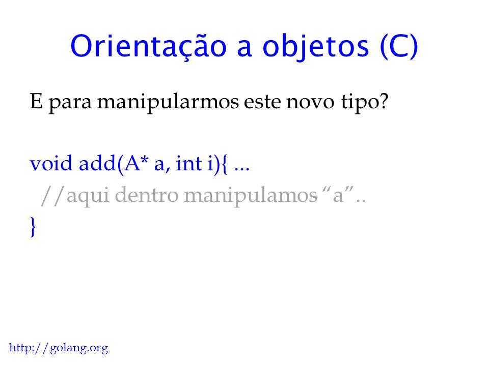 Orientação a objetos (C) O que você mais odeia em C quando esta lidando com tipos novos de dados.
