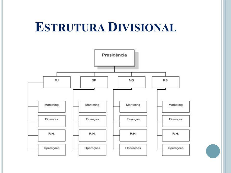 E STRUTURA D IVISIONAL