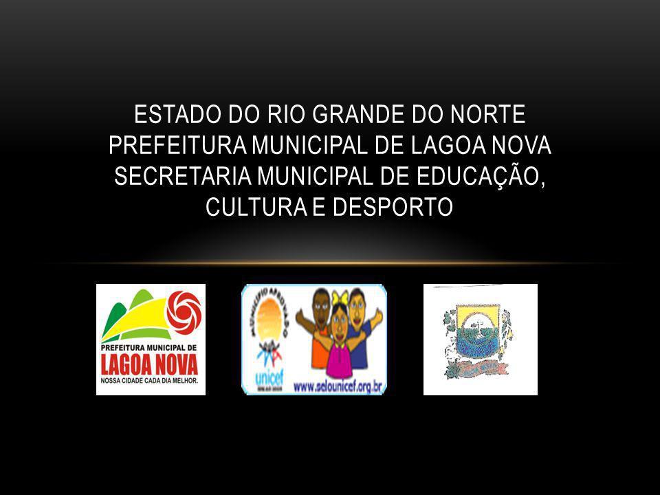 ESTADO DO RIO GRANDE DO NORTE PREFEITURA MUNICIPAL DE LAGOA NOVA SECRETARIA MUNICIPAL DE EDUCAÇÃO, CULTURA E DESPORTO