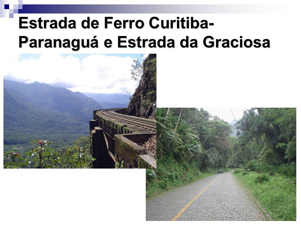 Estrada de Ferro Curitiba- Paranaguá e Estrada da Graciosa