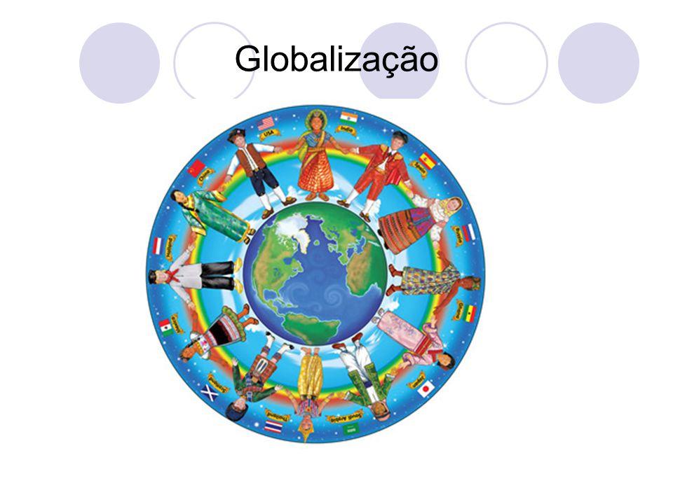 Aldeia Global  O conceito de Aldeia Global se encaixa neste contexto, pois está relacionado com a criação de uma rede de conexões, que deixam as distâncias cada vez mais curtas, facilitando as relações culturais e económicas de forma rápida e eficiente.