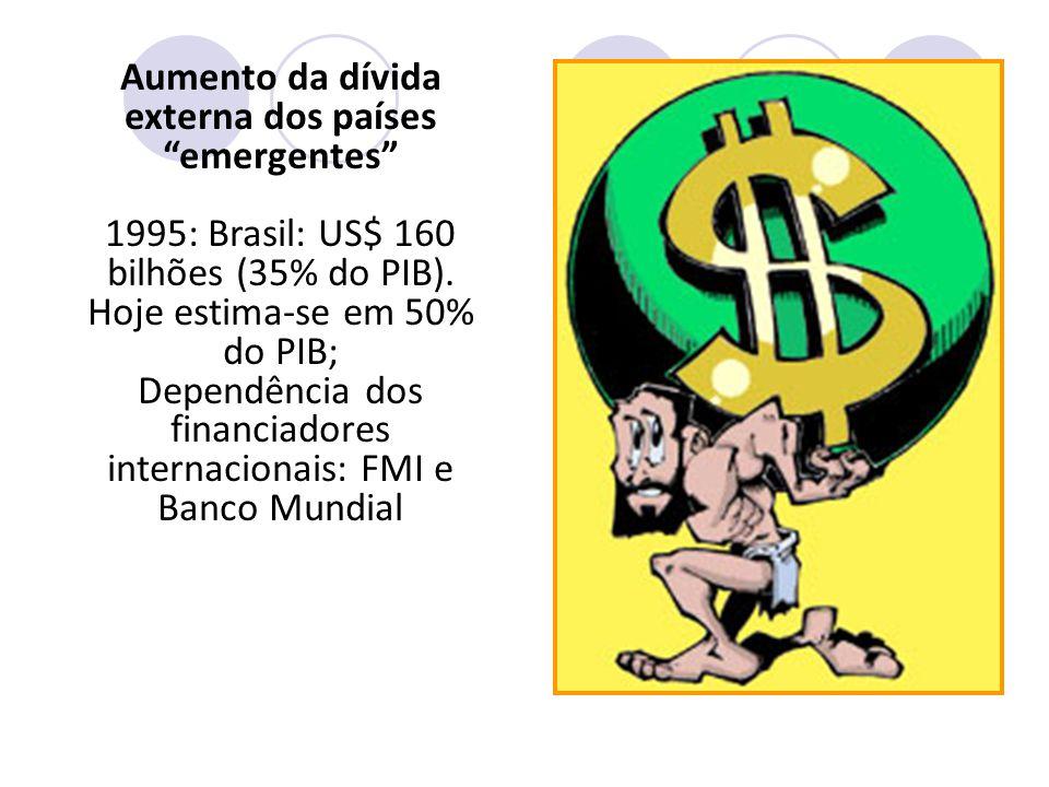 """Efeitos colaterais: """"a perversidade """" Concentração generalizada das riquezas : EUA, Japão e U.E. = 20% da população mundial e 75% das riquezas. Aument"""